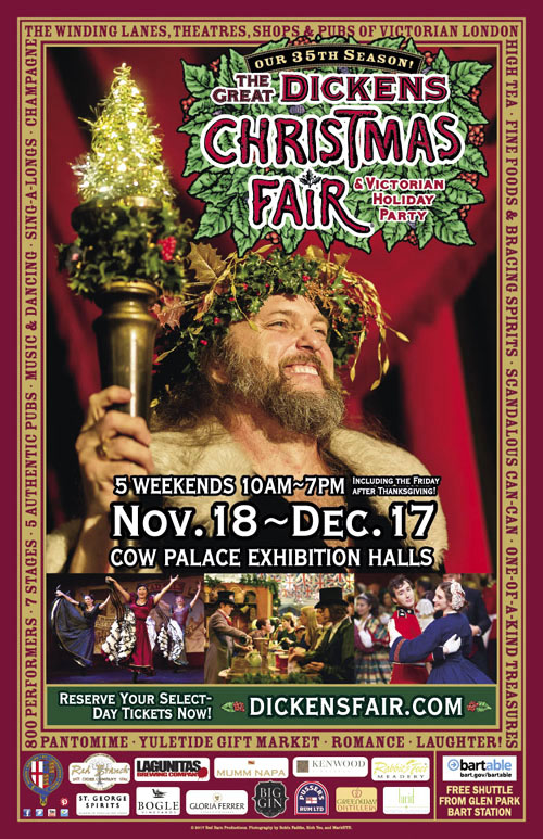 Dickens Christmas Fair 2017 poster