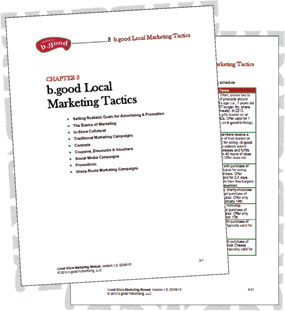 b good Marketing Manual